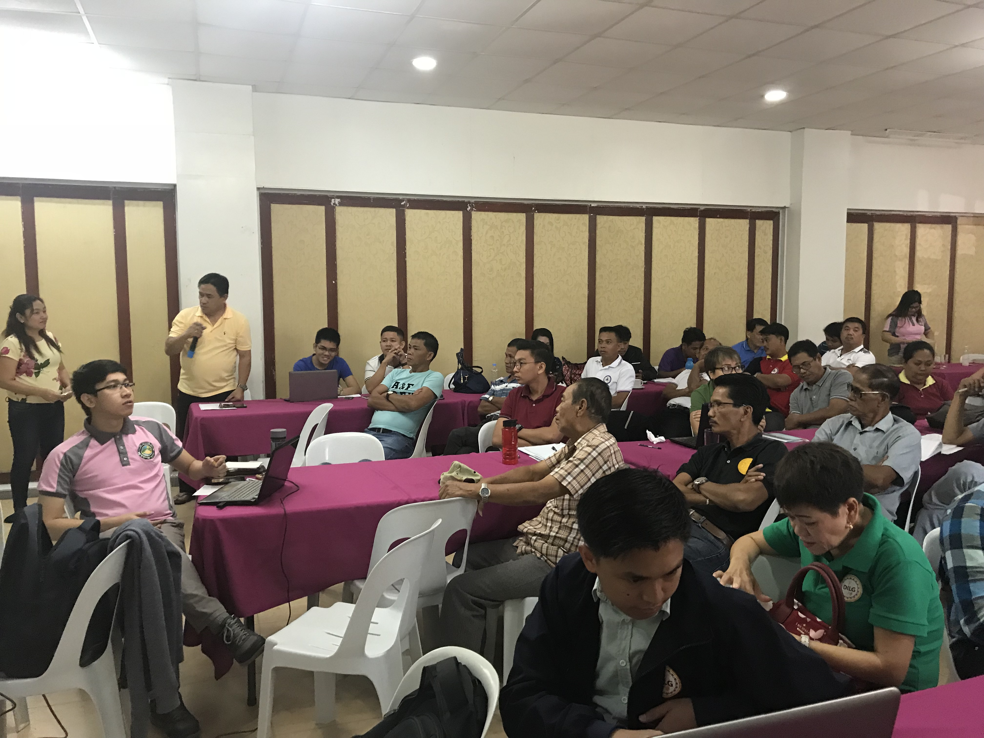 The participants on the discussion of the Comprehensive Land Use Plan on the Municipality of San Jose, Tarlac