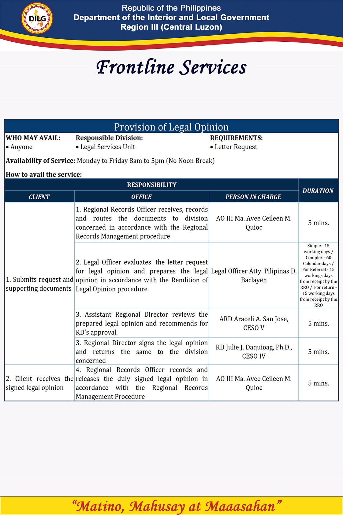 Provision of Legal Opinion resized